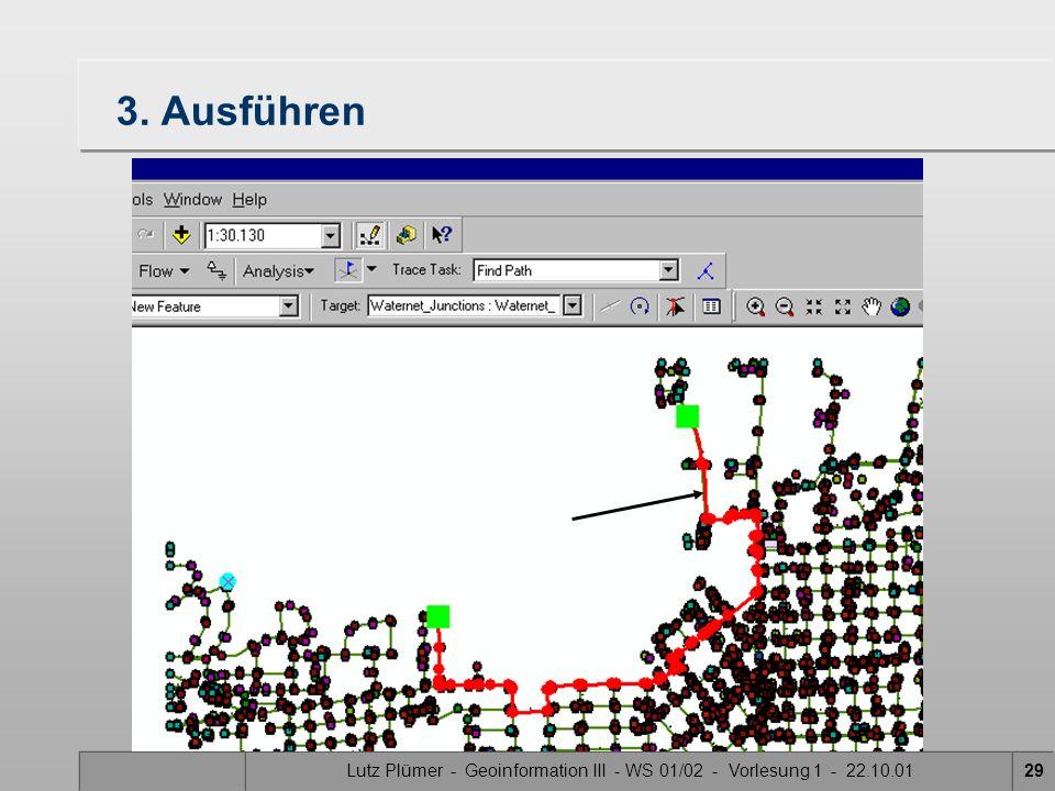 Lutz Plümer - Geoinformation III - WS 01/02 - Vorlesung 1 - 22.10.0128 2. Suchmodus wählen