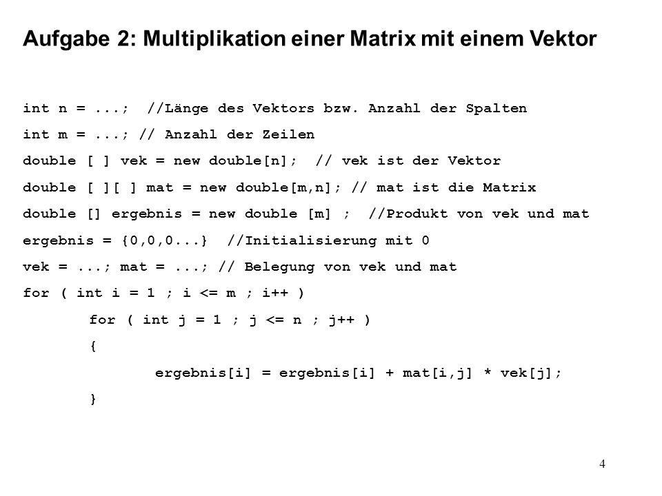 5 Aufgabe 3: Umgekehrte Polnische Notation Prozedur zur Erzeugung der Umgekehrten Polnischen Notation aus einem Syntaxbaum: upn() { upn(wurzel); } upn(Knoten W) { if(W = NULL) return; print(W); print( ( ); upn(W.LinkerNachfolger); print( , ); upn(W.RechterNachfolger); print( ) ); } Bemerkung: Die Prozedur upn() ist fast identisch zu der Prozedur PreOrder() (Mathe 8, 1.