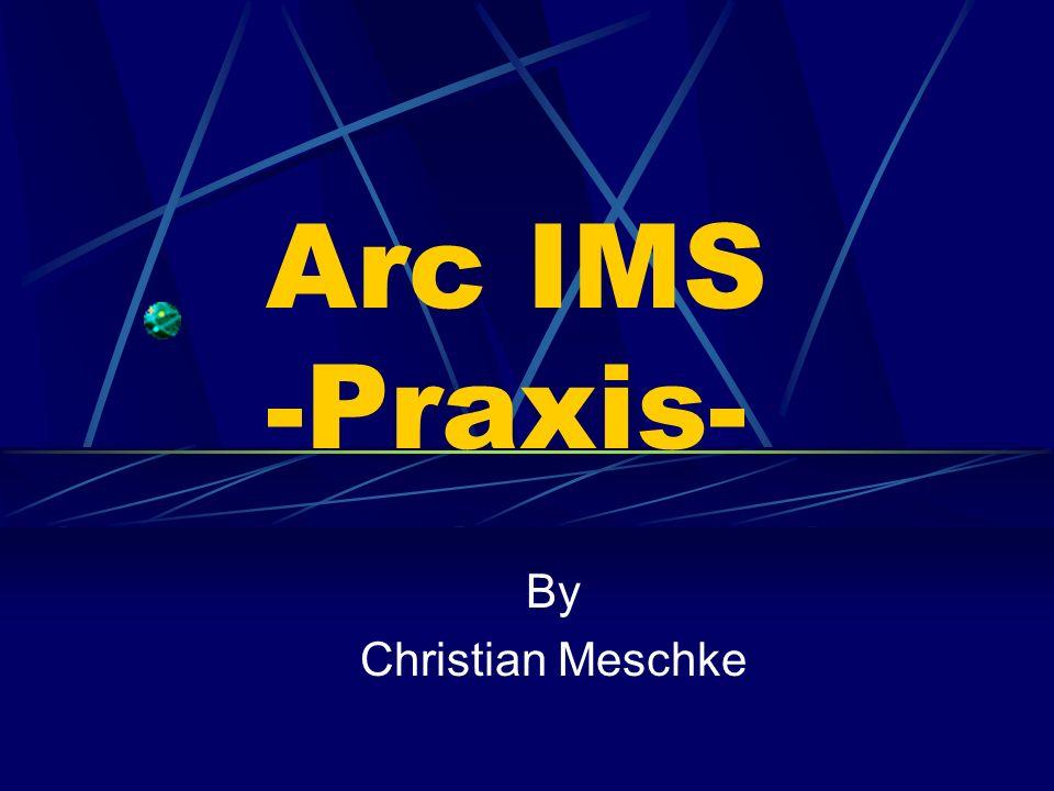 4)Eingabe der URL (Internetadresse) 5)bei der Verbindung kann zwischen allen oder nur einem Arc IMS service gewählt werden 6)bei geschützten services erfolgen hier die nötigen Angaben wie z.B.
