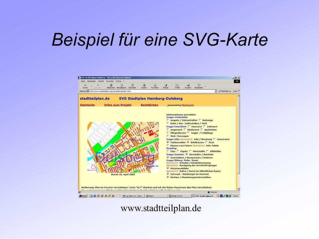 Beispiel für eine SVG-Karte www.stadtteilplan.de