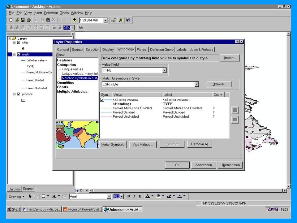 04.11.2002Prosemiar GIS Sebastian Lang31