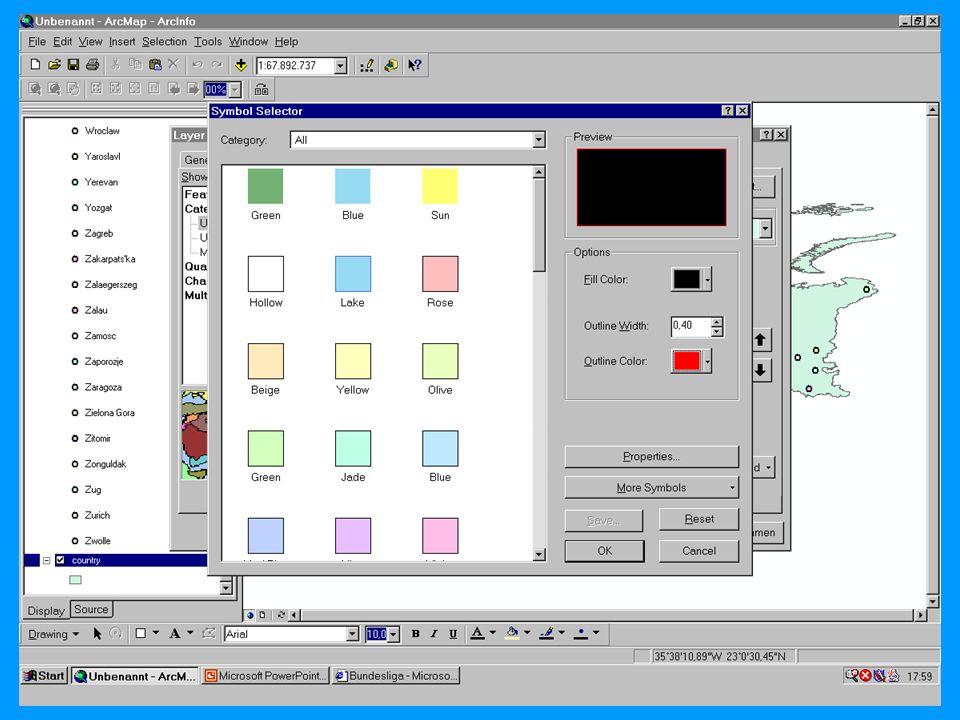 04.11.2002Prosemiar GIS Sebastian Lang44
