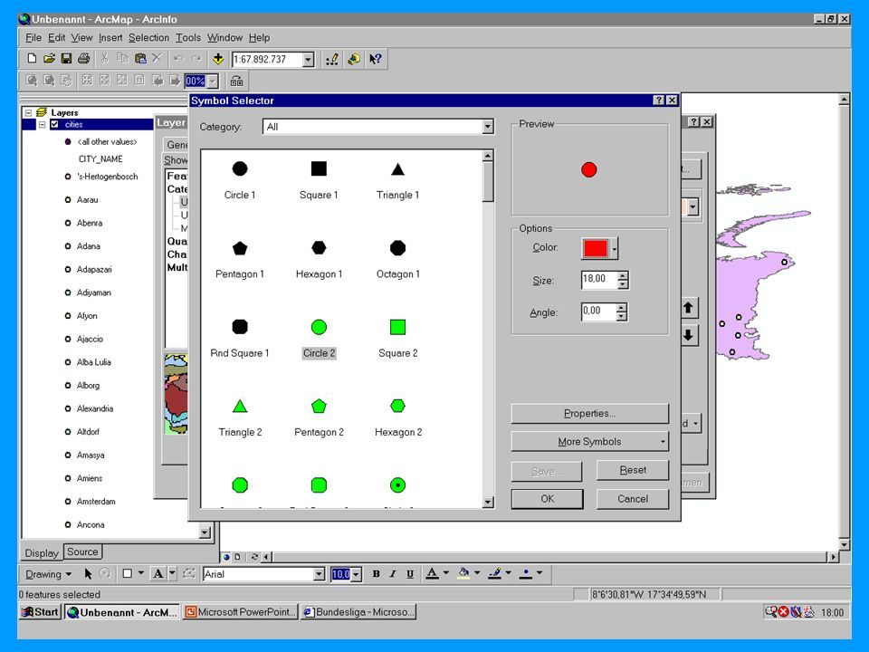 04.11.2002Prosemiar GIS Sebastian Lang45