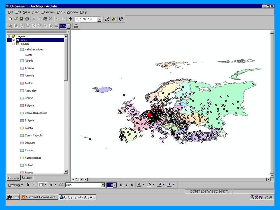 04.11.2002Prosemiar GIS Sebastian Lang46