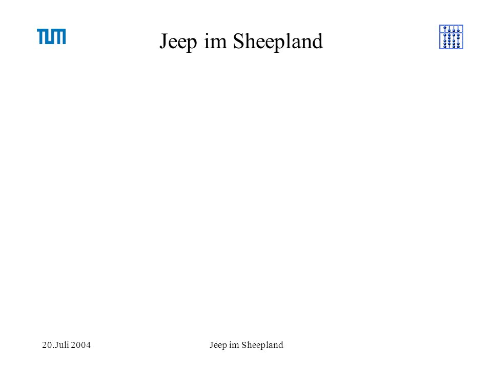 20.Juli 2004Jeep im Sheepland