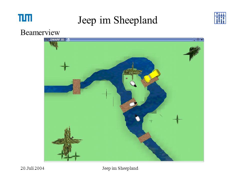 20.Juli 2004Jeep im Sheepland
