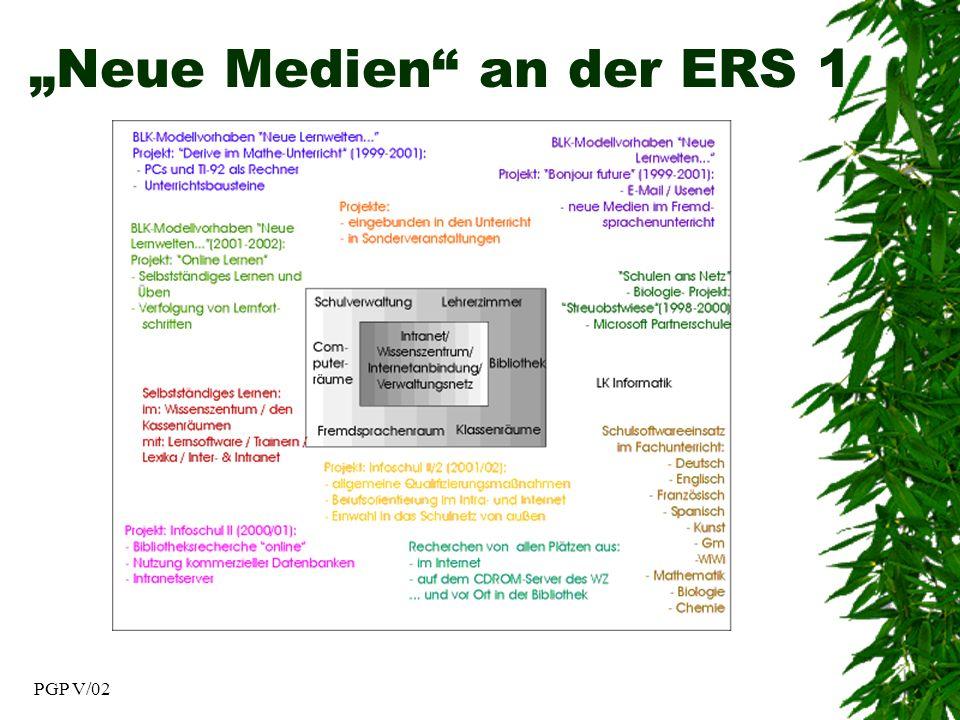 PGP V/02 Neue Medien an der ERS 1