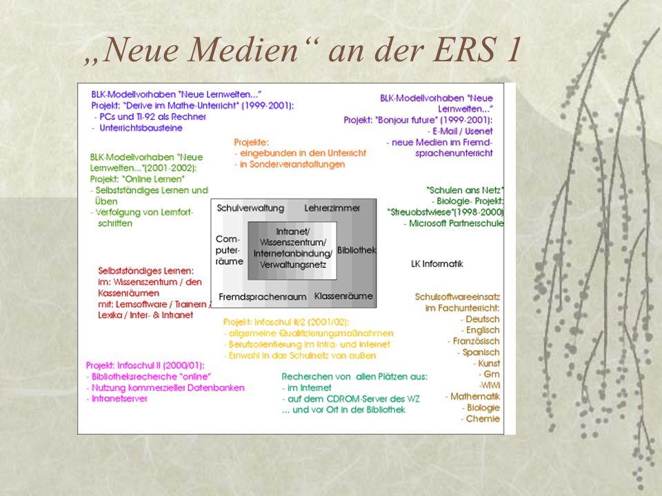 Neue Medien an der ERS 1