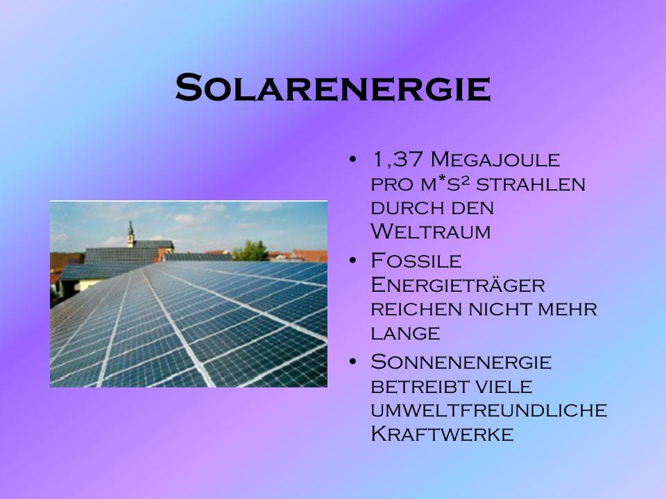 Solaranlage Solarenergie & Anlagen Solarzelle Photovoltaikanlage Speicherung des Solarstroms Anwendungsgebiete