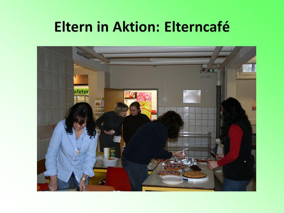 Eltern in Aktion: Elterncafé