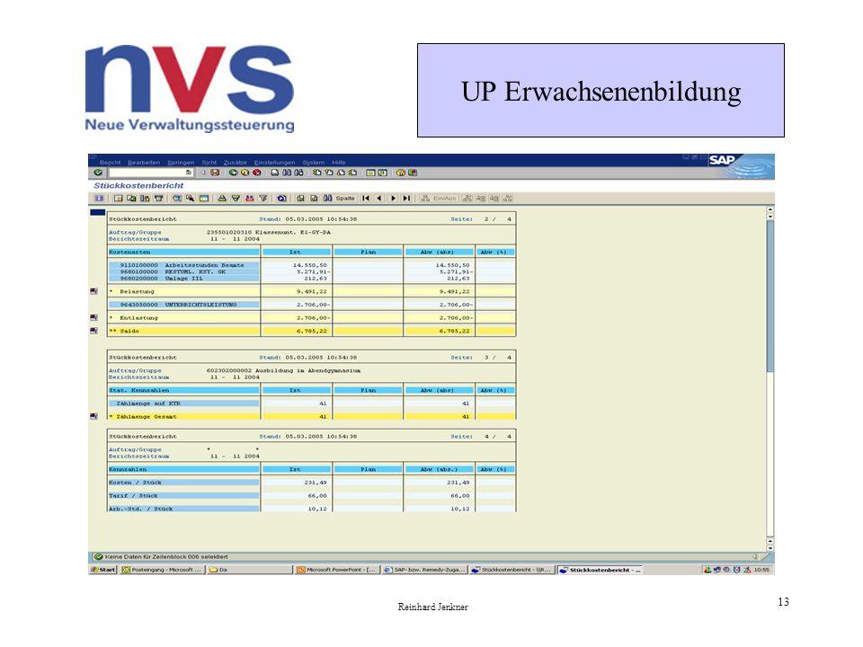 UP Erwachsenenbildung Reinhard Jenkner 13 Kosten des Landes Hessen im AG Darmstadt November 2004