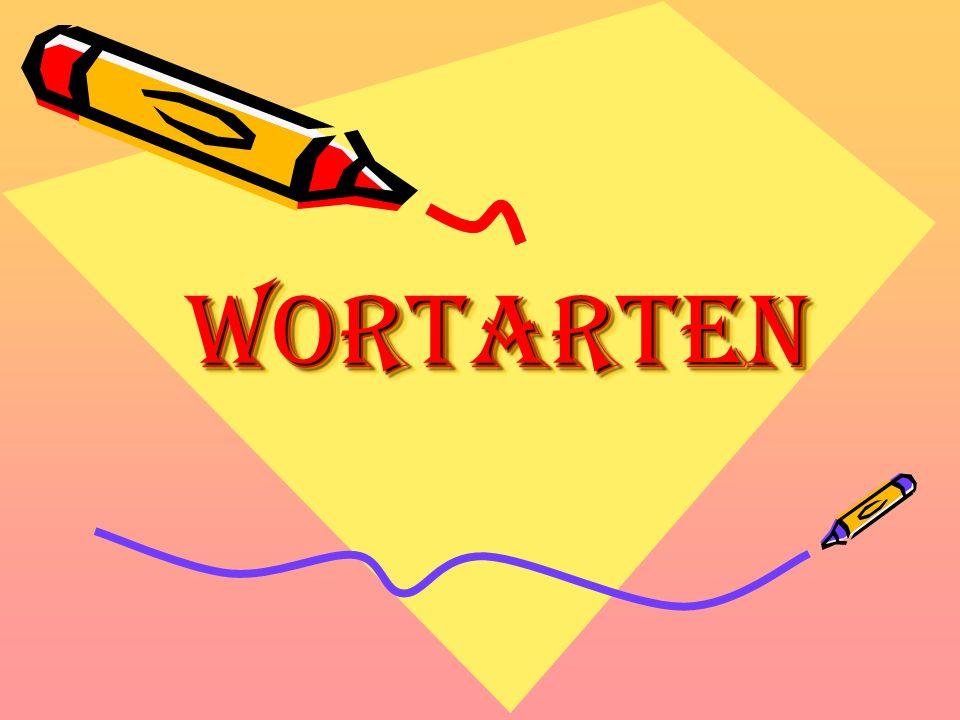 WortartenWortarten