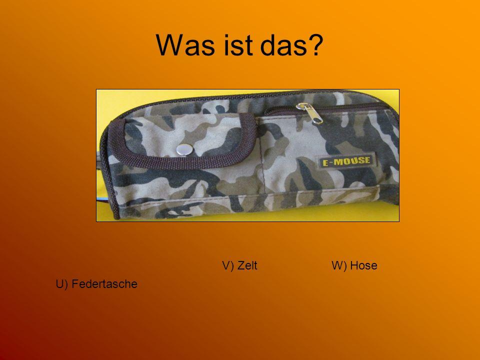Was ist das? G) Tasche für Busfahrkarte F) Kissen H) Strandmatte