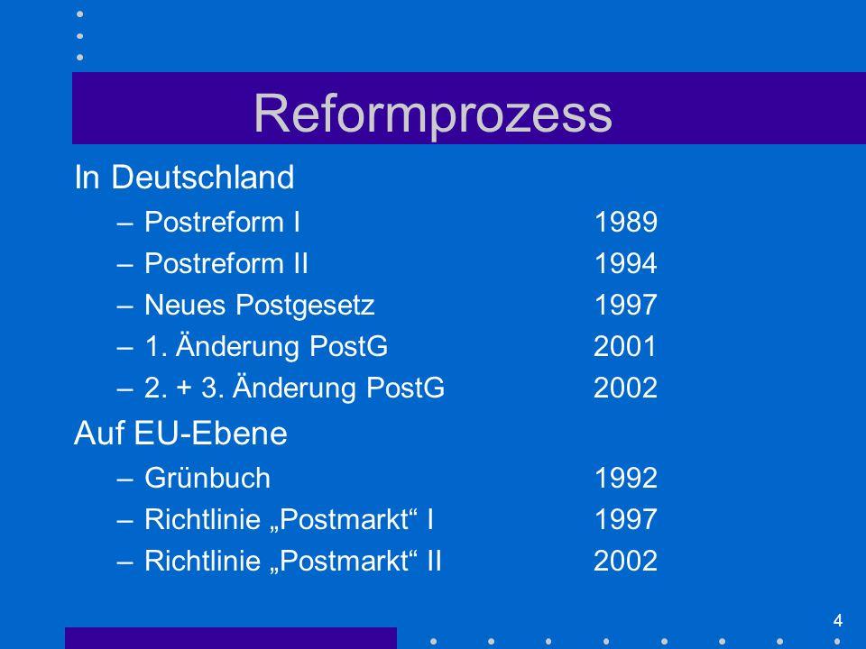 25 Gewinn (EBIT) DP nach Segmenten 19992003 Quelle: Deutsche Post