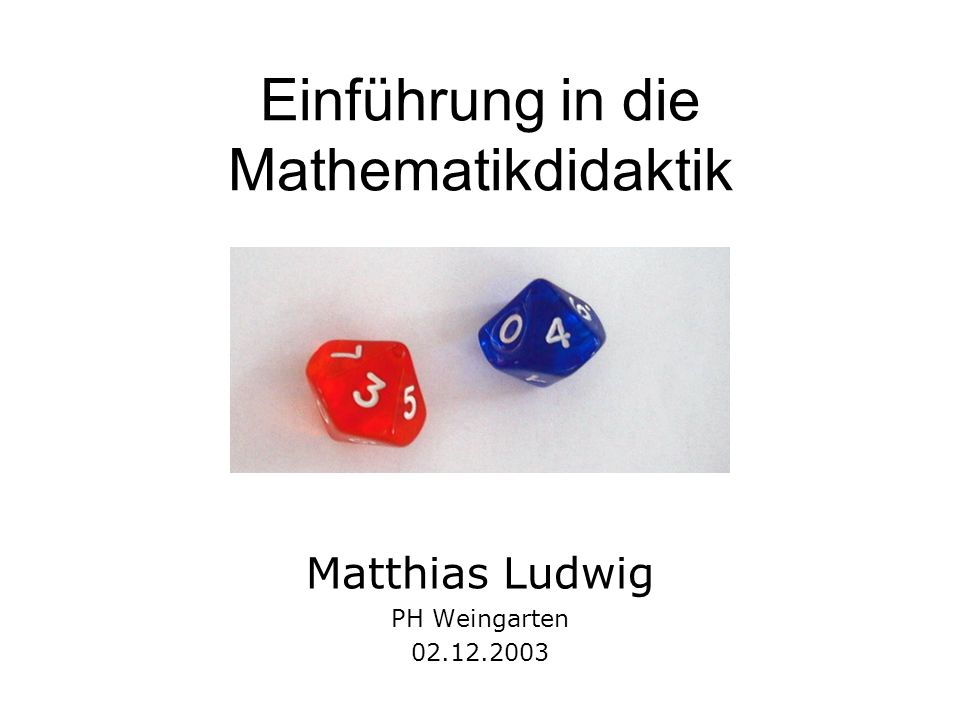 Überblick Besprechung der Übungen Prinzip des aktiv entdeckenden Unterrichts Einführung in die Multiplikation M.