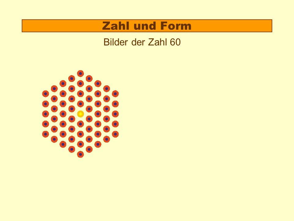 6 passen genau herum Insgesamt 7*7³ = 7 4 Kreise Eine Superblume 7³ Kreise 4.