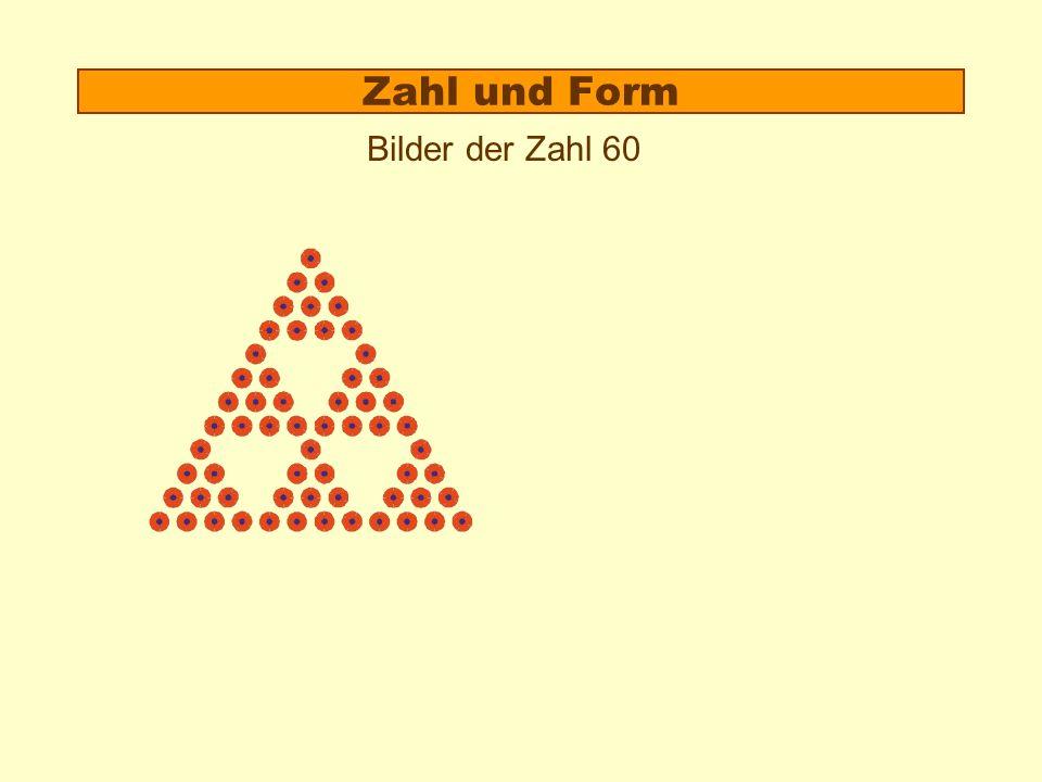 Zahl und Form 1.Beispiel: Miss 10 2.Theorie: Der Formzahlaspekt 3.Anschaulich rechnen: Zerlegen und Umformen von Zahlbildern
