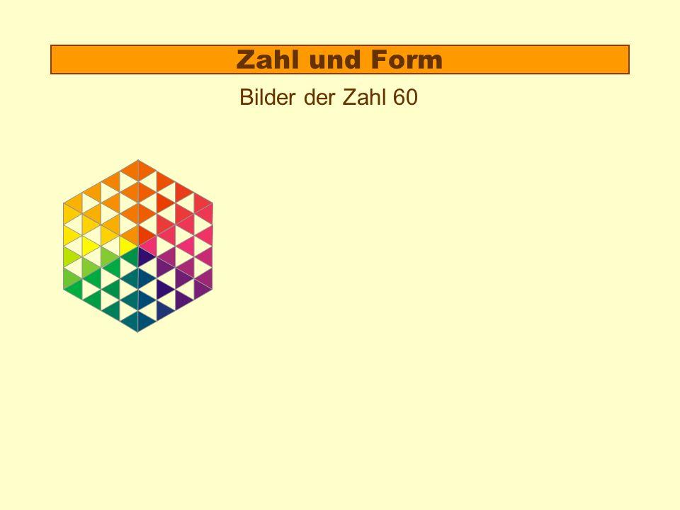 2.B. Formeigenschaften von Zahlen a)Für jede Zahl sind spezielle Zahlbilder charakteristisch