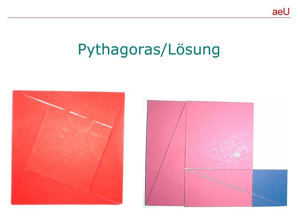 Pythagoras/Lösung aeU