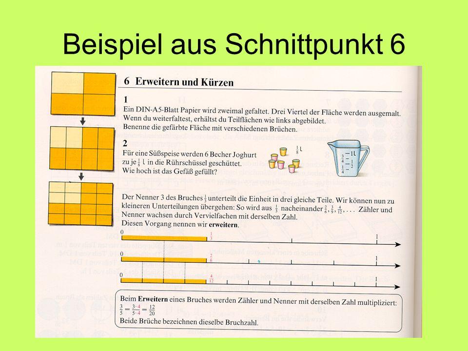 Beispiel aus Schnittpunkt 6
