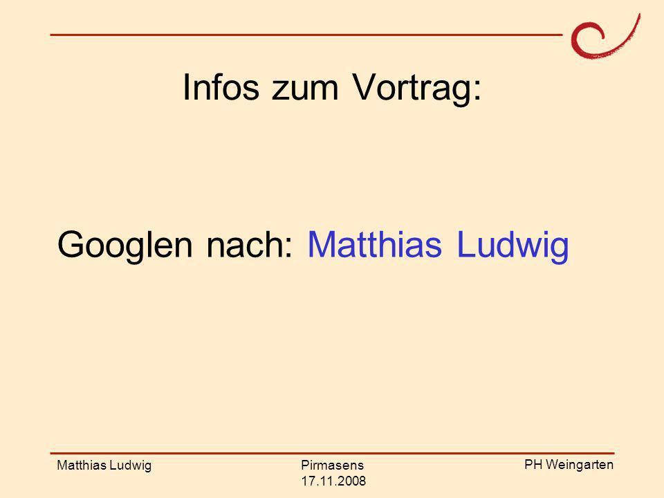 PH Weingarten Matthias LudwigPirmasens 17.11.2008 Struktur Kurze theoretische Einführung Fermiaufgaben Kleine Modellierungsaufgaben Forschung zu den Modellierungsaufgaben Weitere Vorschläge Zusammenfassung