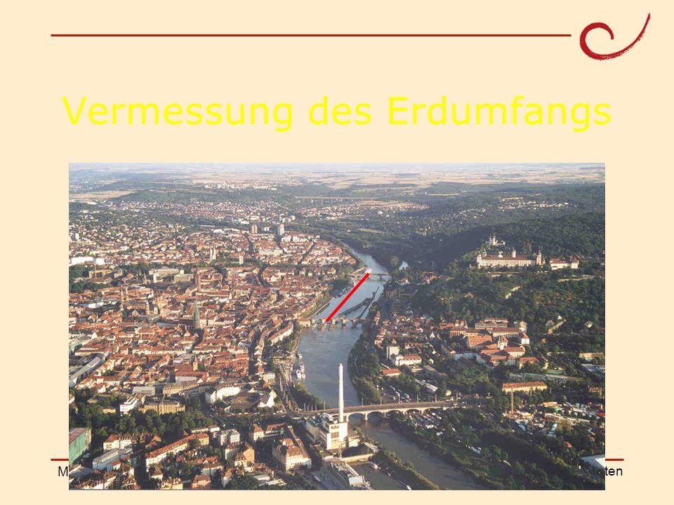 PH Weingarten Matthias LudwigShanghai Workshop Vermessung des Erdumfangs