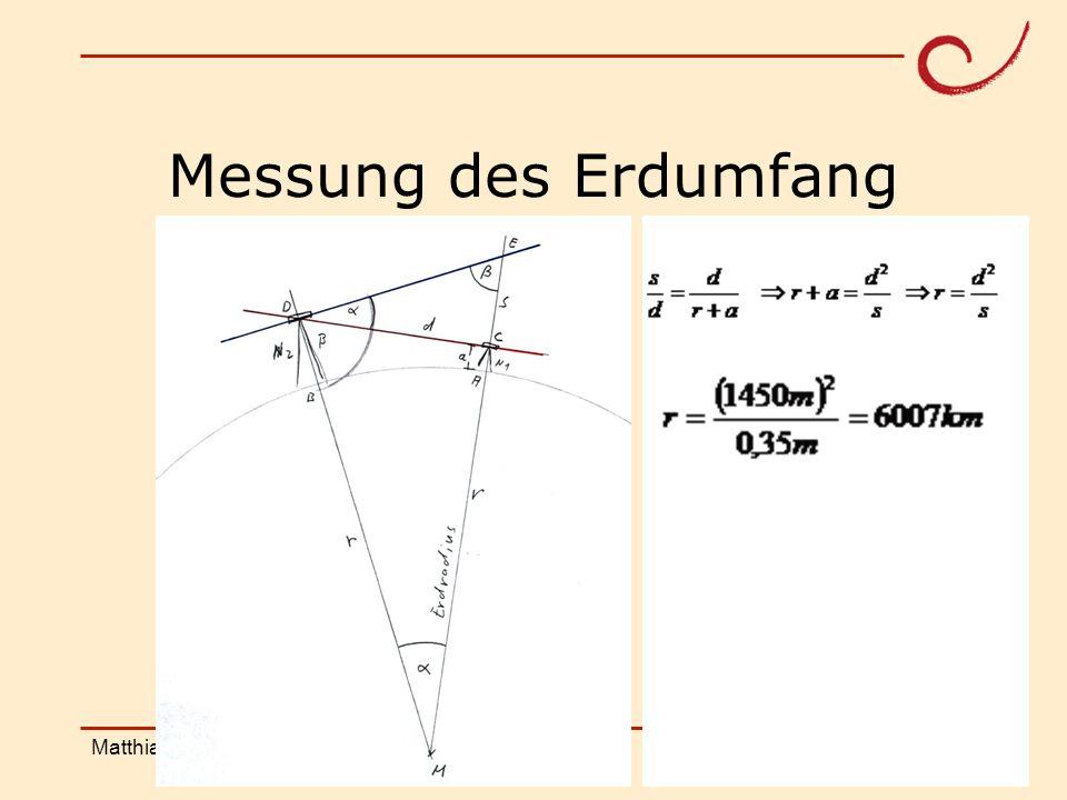 PH Weingarten Matthias LudwigShanghai Workshop Messung des Erdumfang