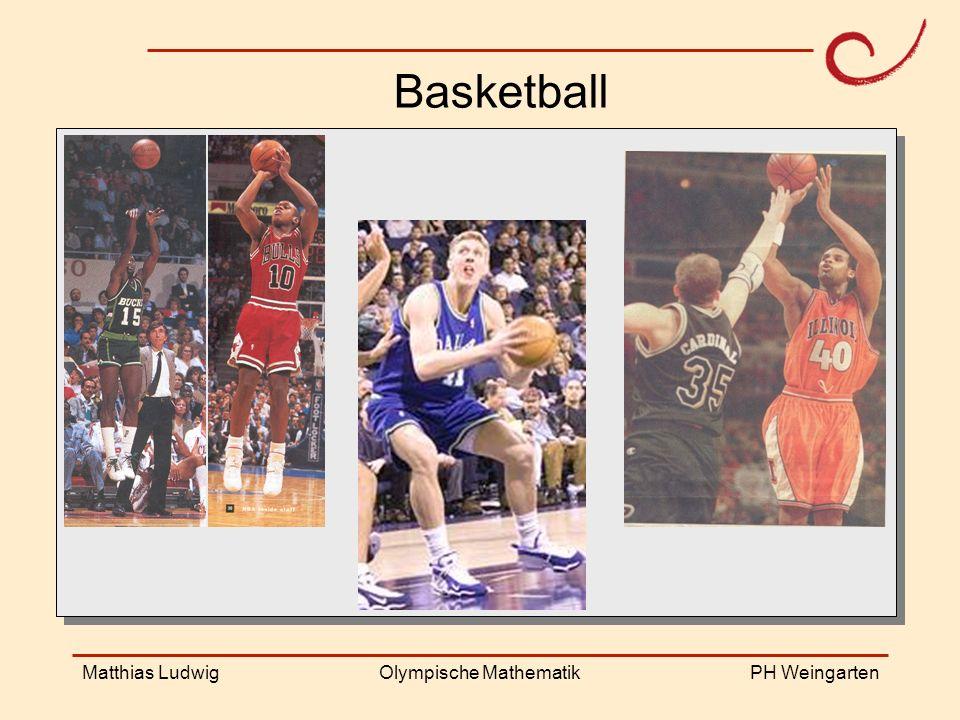 PH Weingarten Matthias LudwigOlympische Mathematik Basketball