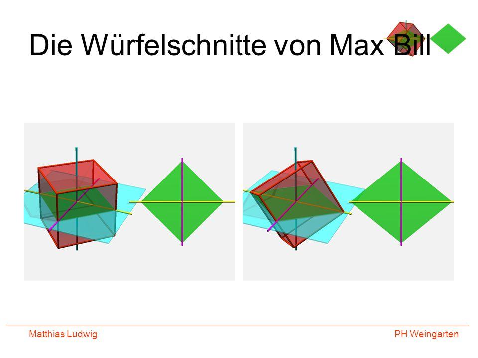 PH Weingarten Matthias Ludwig Die Würfelschnitte von Max Bill