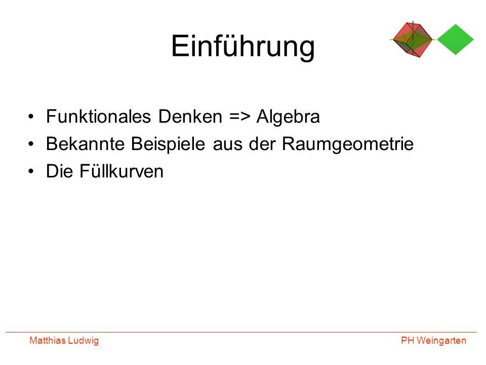 PH Weingarten Matthias Ludwig Füllkurven