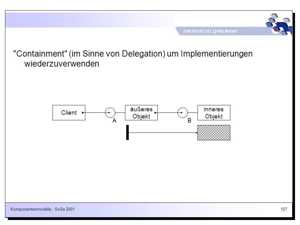 Komponentenmodelle - SoSe 2001157