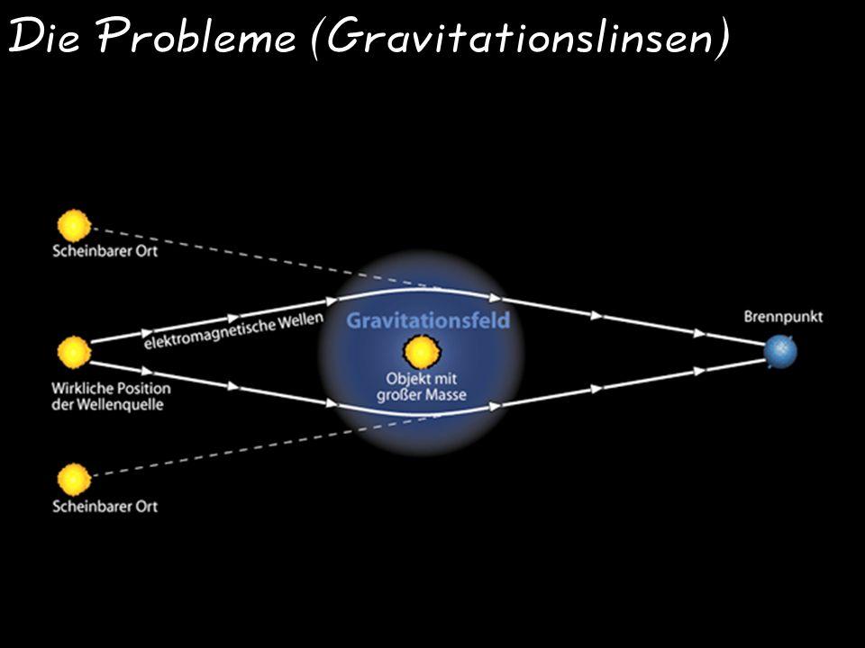 Die Probleme (Gravitationslinsen)