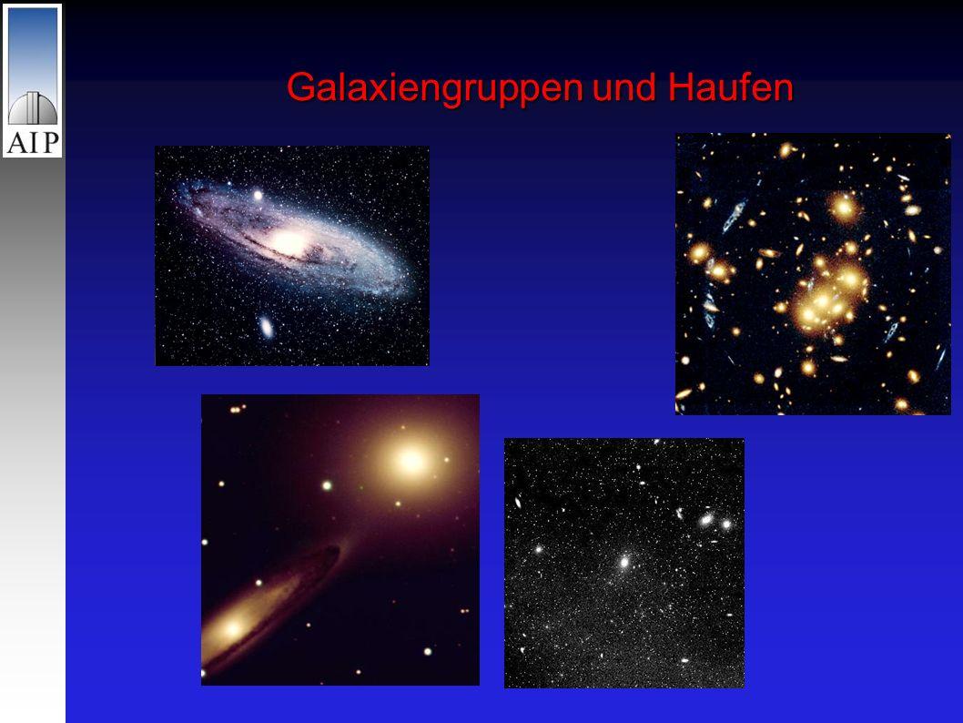 Galaxiengruppen und Haufen