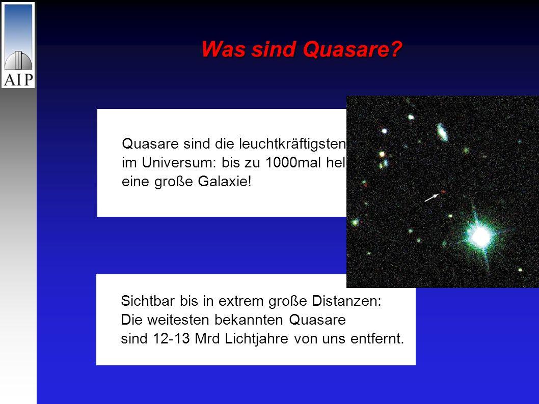 Was sind Quasare.