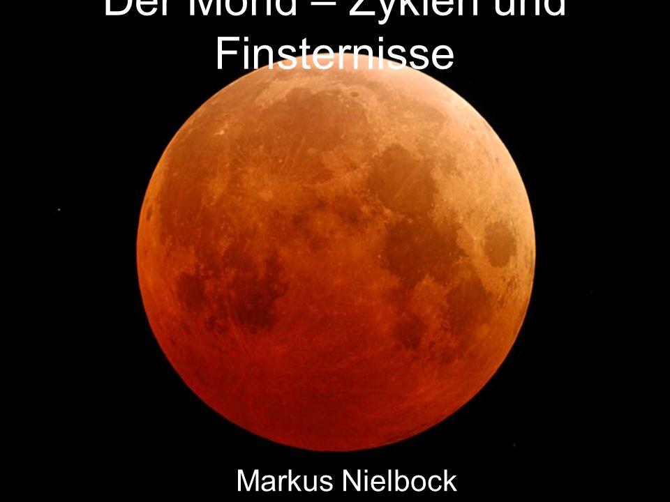 Mondfinsternis – Der Saroszyklus Die Orientierung der Mondbahn ist nicht raumfest.