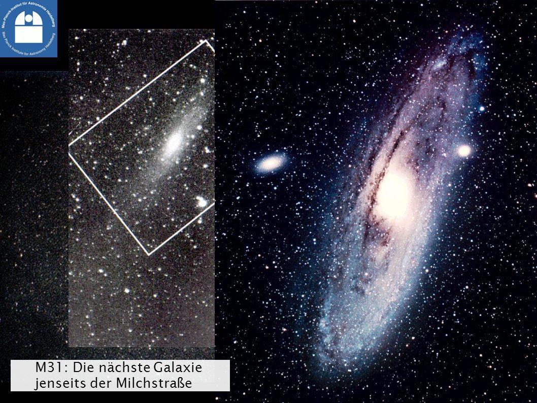 Nachbar im All: Der Andromedanebel M31: Die nächste Galaxie jenseits der Milchstraße