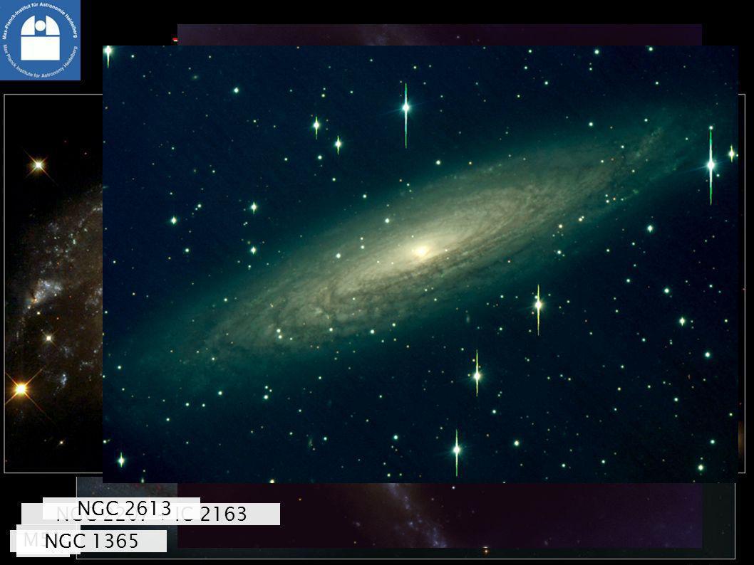 NGC 1232 Zoobewohner, Teil 1: Spiralgalaxien M51 NGC 1365 NGC 2207 + IC 2163 NGC 2613