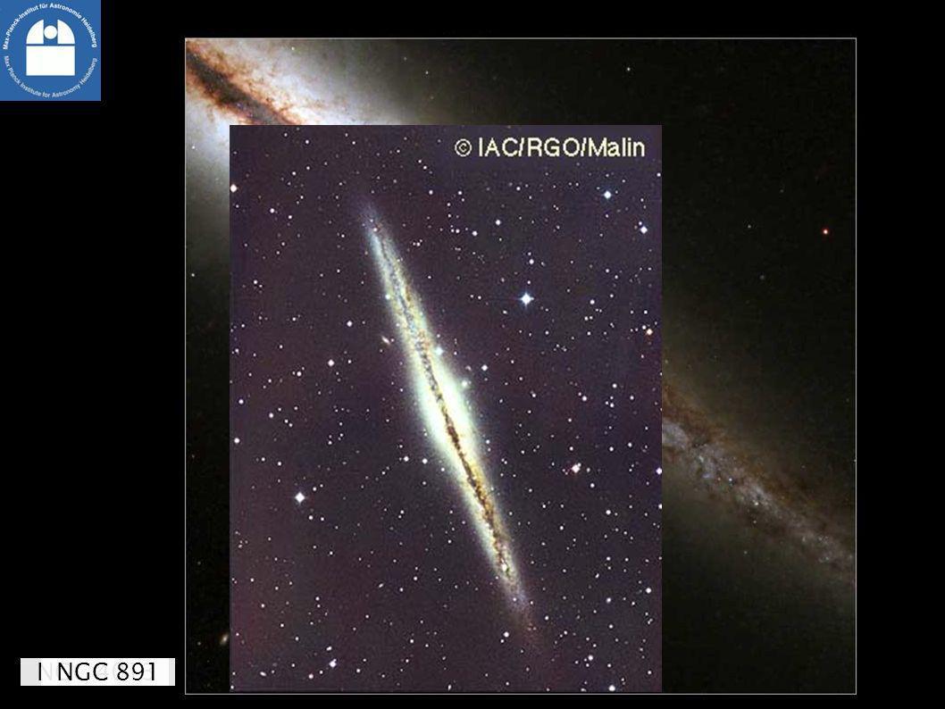 Zoo, Teil 1: Spiralgalaxien NGC 4013NGC 891