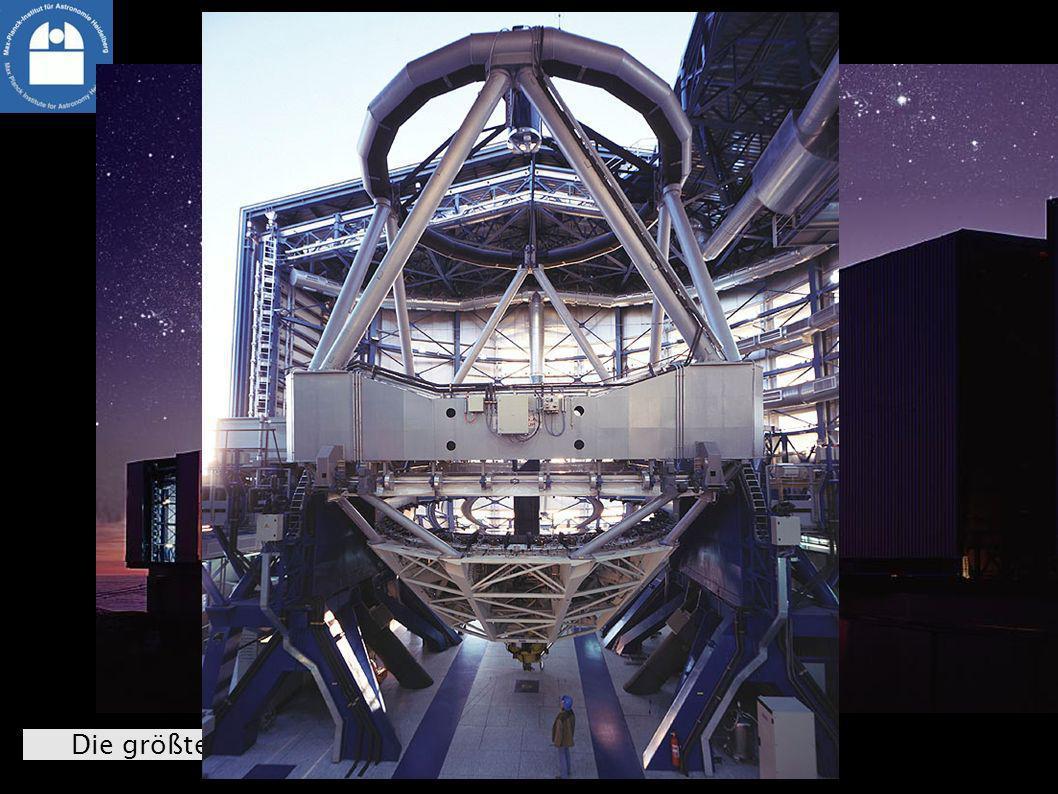 Die größten Teleskope: Very Large Telescope (Chile)
