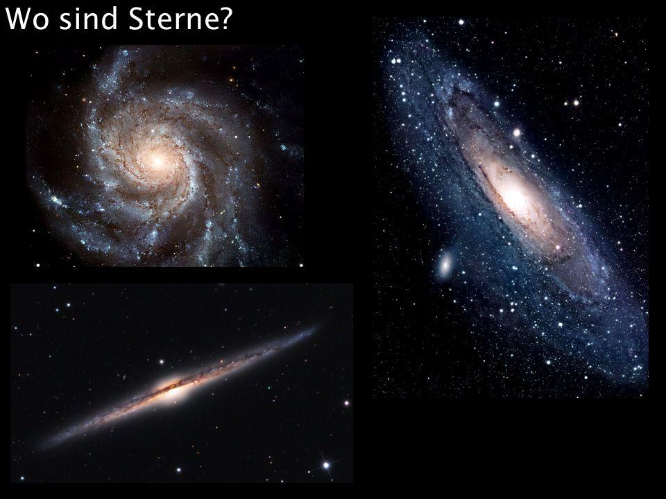 Wo sind Sterne?