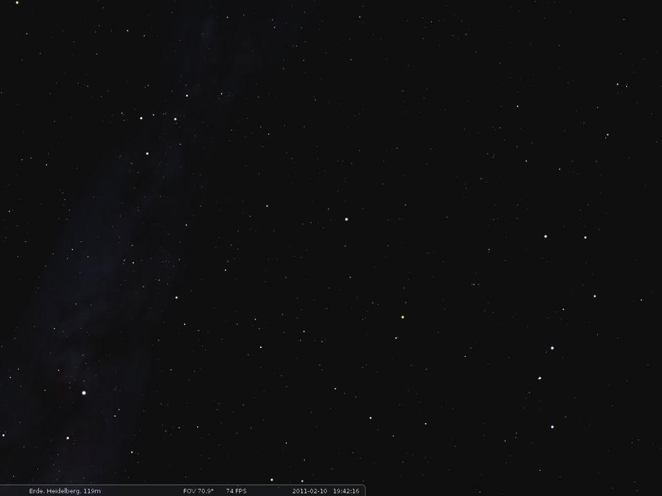 Kassiopeia Kepheus SchwanDrache Kleiner Bär (Kleiner Wagen) Großer Bär (Großer Wagen) Eidechse Polarstern