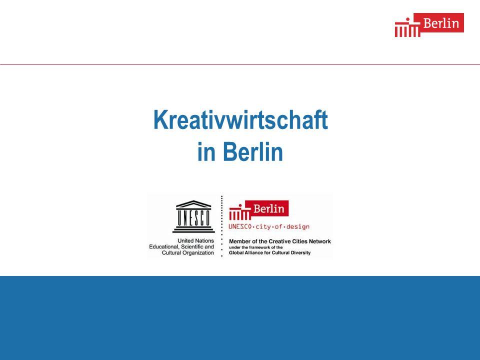 Kreativwirtschaft in Berlin