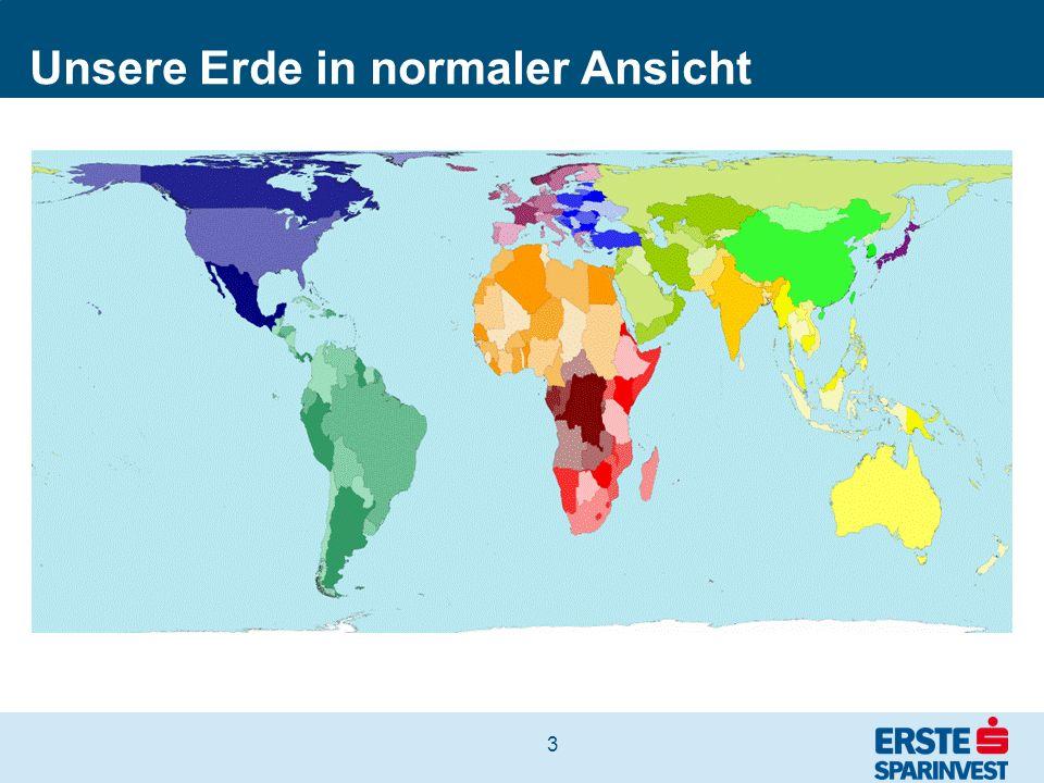 4 Die Erde nach BIP pro Person