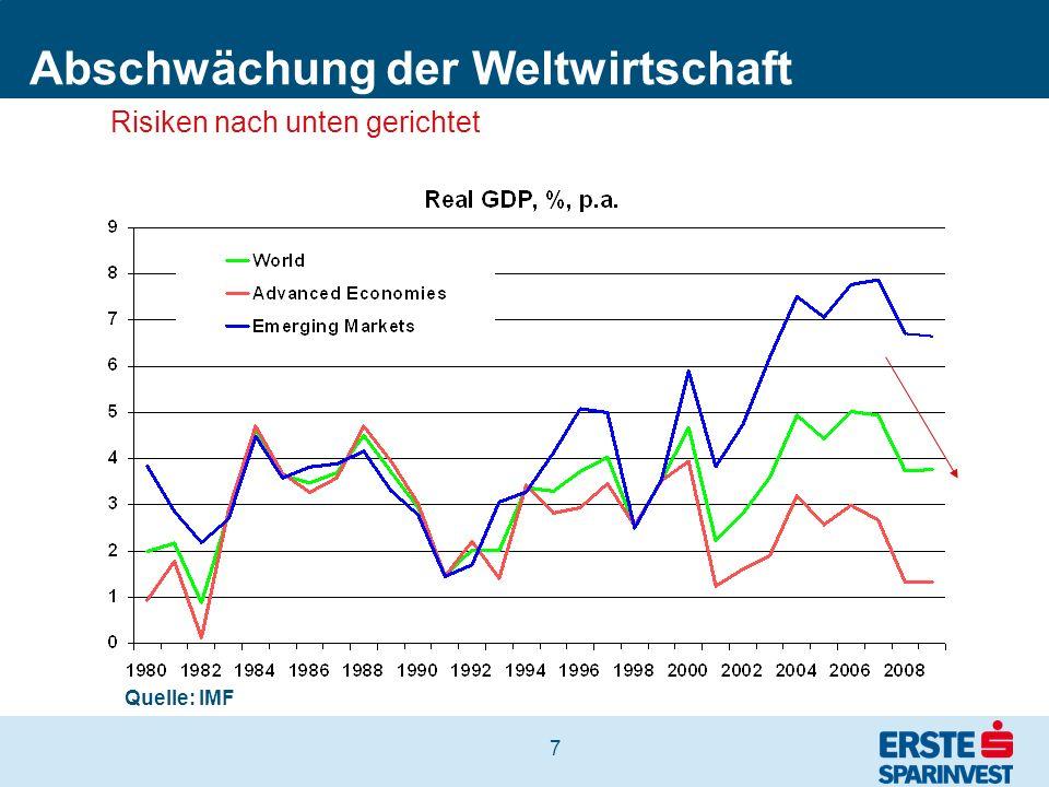 18 Spreads Bankanleihen nach Bonität In der aktuellen Krise haben v.a.