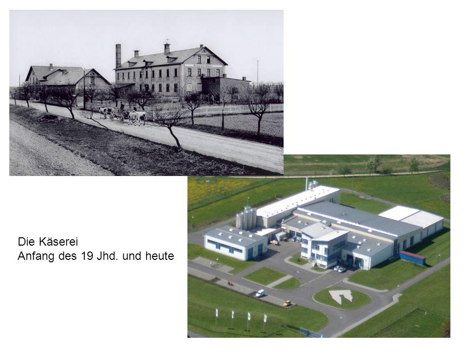 1898Bau einer Weichkäserei Heinrich Kluge 1900Beginn der industriellen Fertigung des Altenburger ZiegenkäsesHermann Viertel 1955lt.