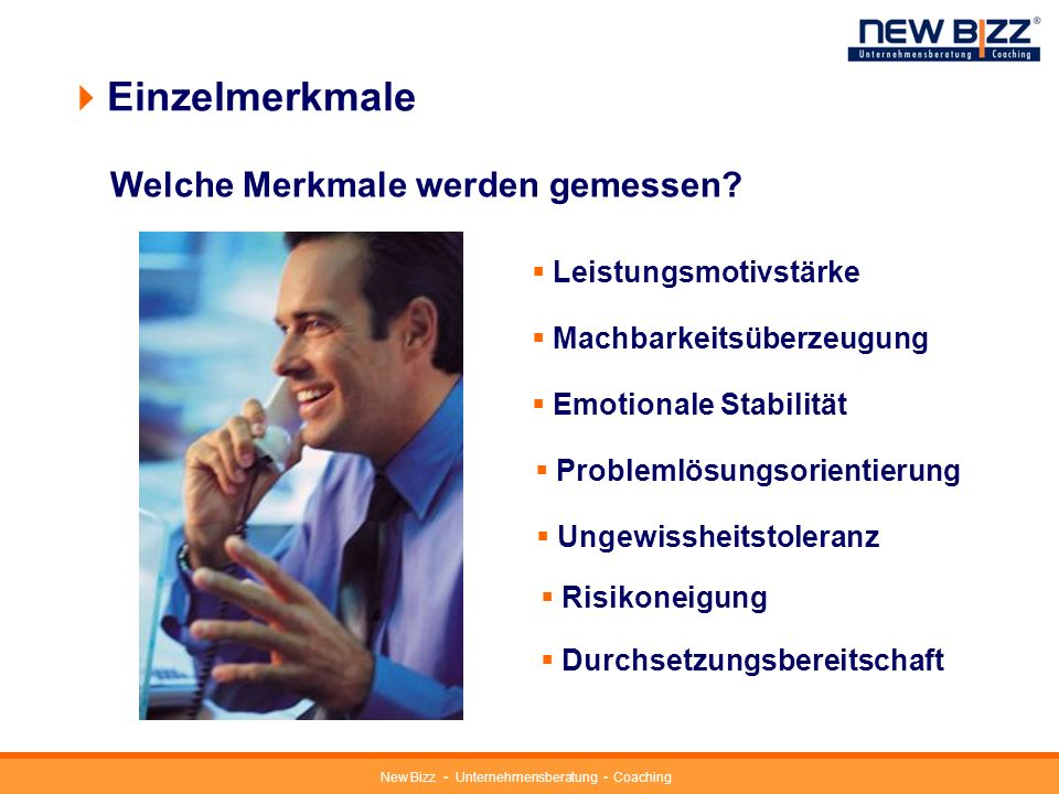New Bizz Unternehmensberatung Coaching Fragenkatalog first step 63 Fragen