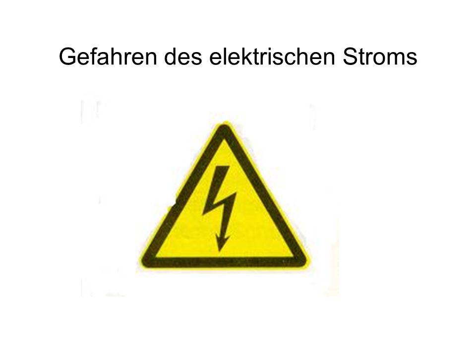 Gefährliche Ströme