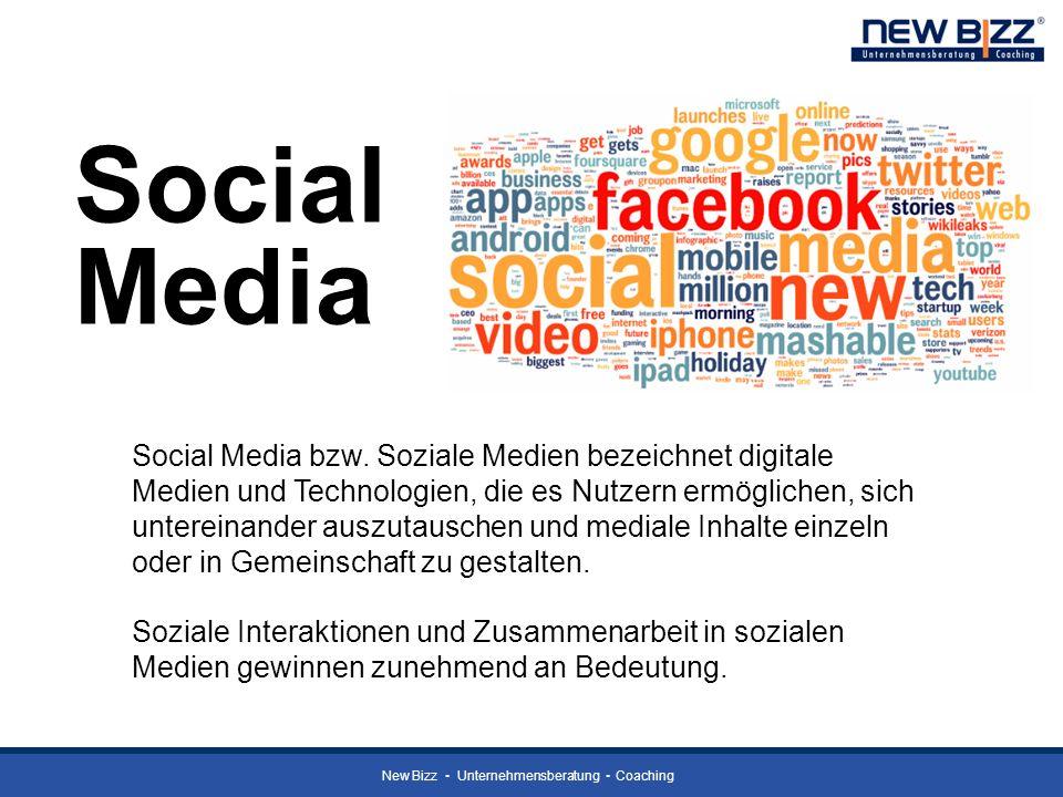 Social Media Social Media bzw. Soziale Medien bezeichnet digitale Medien und Technologien, die es Nutzern ermöglichen, sich untereinander auszutausche