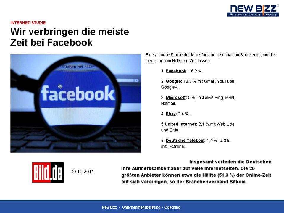 New Bizz Unternehmensberatung Coaching 30.10.2011