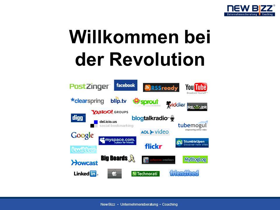 New Bizz Unternehmensberatung Coaching Willkommen bei der Revolution